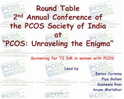 Oral Contraceptives in PCOS